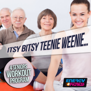 Itsy Bitsy Teenie Weenie... 4 Seniors Workout Program (15 Tracks Non-Stop Mixed Compilation for Fitness & Workout 126 Bpm) - Various Artists - Various Artists