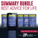 Zip Reads - Summary Bundle: Best Life Advice: Includes Summary of 12 Rules for Life; Summary of Girl, Wash Your Face; Summary of The Confidence Gap; Summary of Tribe of Mentors; + 1 Bonus Book! (Unabridged)