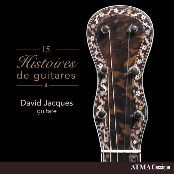 David Jacques– 15 histoires de guitares