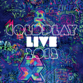Live 2012 - Coldplay Cover Art