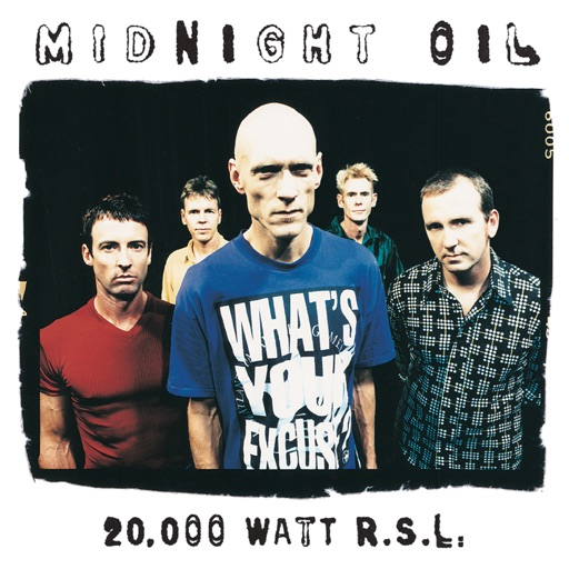 Art for Forgotten Years by Midnight Oil