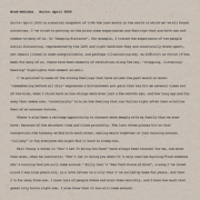 Suite: April 2020 - Brad Mehldau