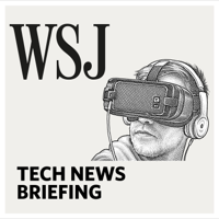 Podcast cover art for WSJ Tech News Briefing