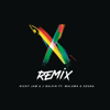 Nicky Jam & J Balvin - X (feat. Maluma & Ozuna) [Remix] ilustración