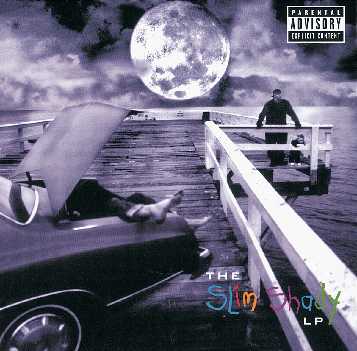 The Slim Shady LP Eminem CD cover