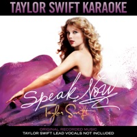 Taylor Swift Karaoke: Speak Now Mp3 Download