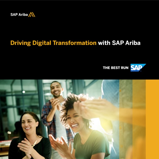 Cover image of Driving Digital Transformation with SAP Ariba