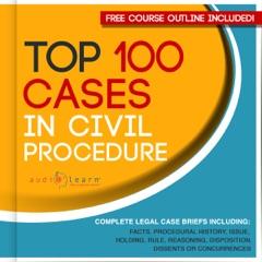 Top 100 Cases in Civil Procedure: Legal Briefs (Unabridged)