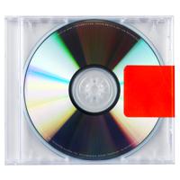 Kanye West - Black Skinhead artwork