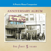 Garrison Keillor - A Prairie Home Companion, Anniversary Album: the first 5 Years  artwork