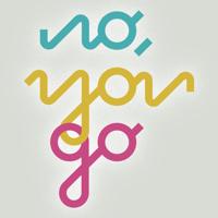 Podcast cover art for No, You Go