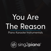 Free Download You Are the Reason (Originally Performed by Calum Scott) [Piano Karaoke Version].mp3