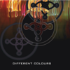 The Mission - Different Colours - EP artwork