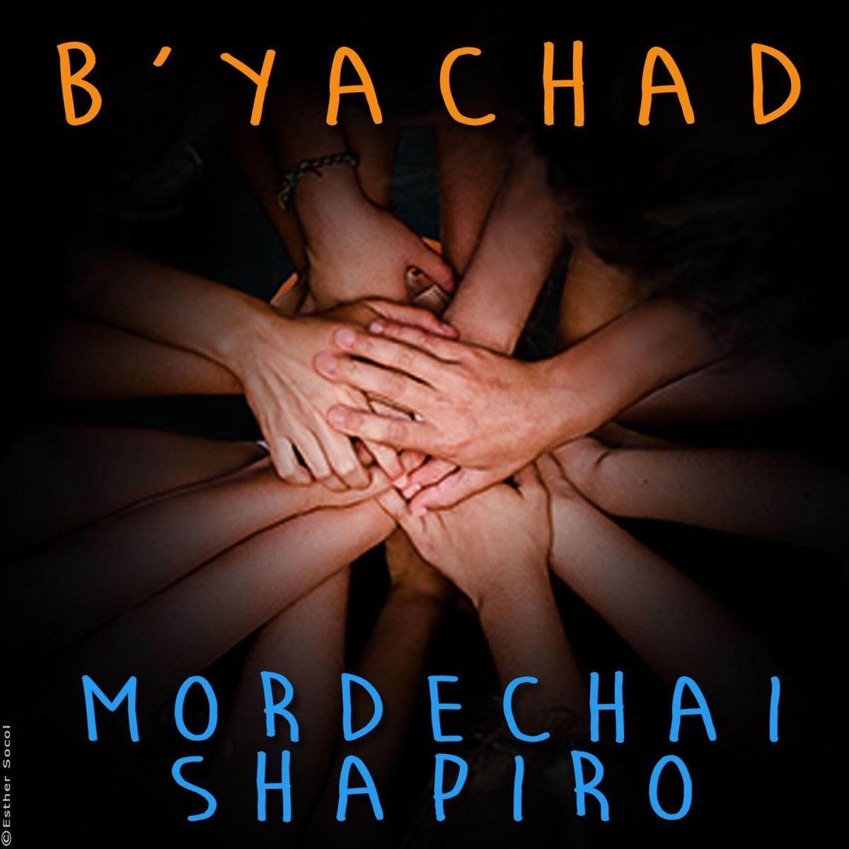 Byachad - Single Mordechai Shapiro CD cover