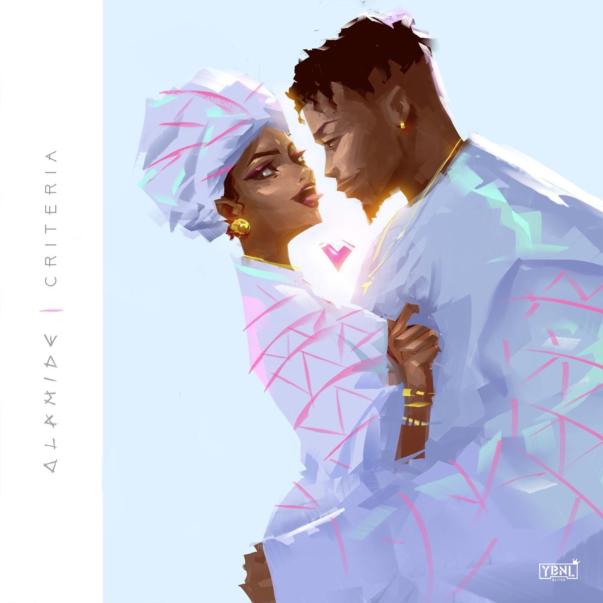 Criteria - Single Album Cover by Olamide