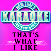 That's What I Like (Originally Performed by Bruno Mars) [Instrumental Karaoke Version] - Now That's Karaoke Instrumentals - Now That's Karaoke Instrumentals
