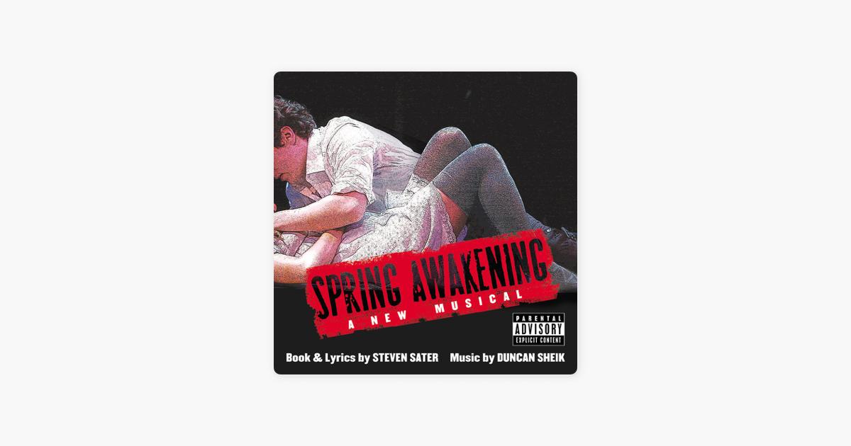 Spring Awakening (feat  Steven Sater) by Duncan Sheik