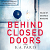 B A Paris - Behind Closed Doors  artwork