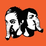 """The album art for """"Heads Up - EP"""" by Death from Above 1979"""