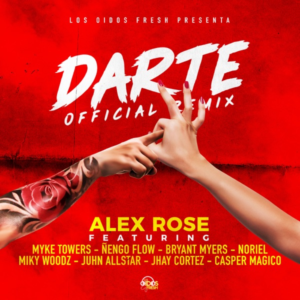 Darte Remix (feat. Myke Towers, Ñengo Flow, Bryant Myers, Noriel, Miky Woodz, Juhn Allstar & Jhay Cortez) - Single