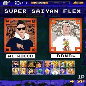 bbno$ - Super Saiyan Flex feat. Al Rocco, Yung Castor & 8mc