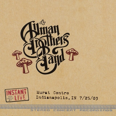 Indianapolis, IN 7-25-03 - The Allman Brothers Band
