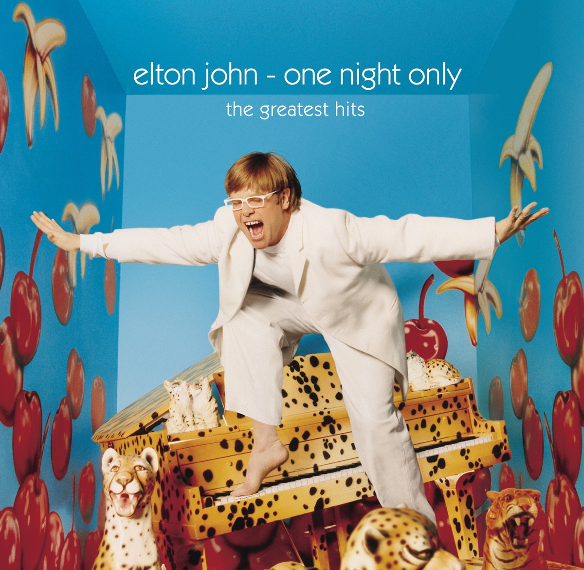 One Night Only The Greatest Hits Live Elton John CD cover