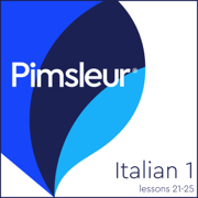 Pimsleur Italian Level 1 Lessons 21-25