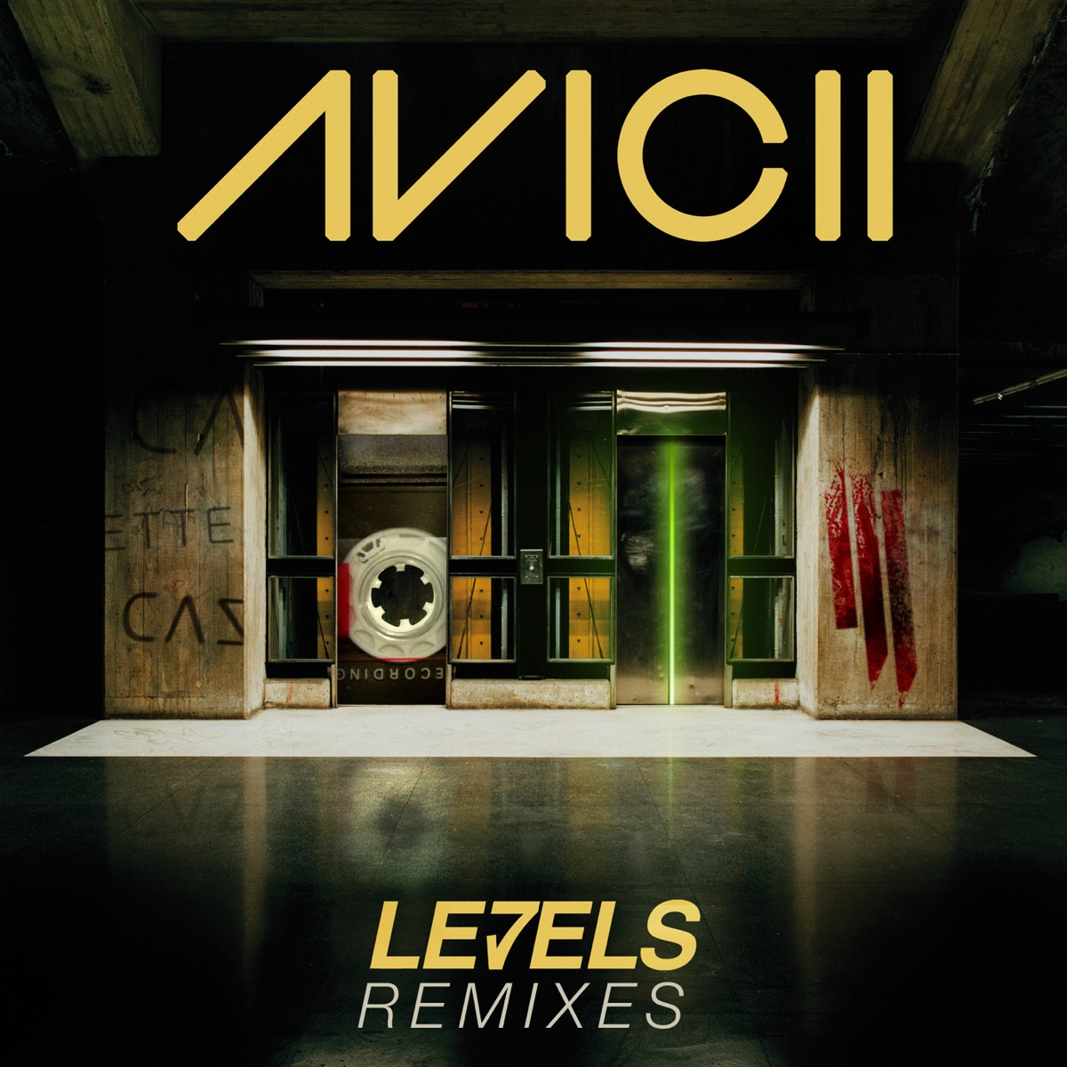 Levels Remixes - EP Avicii CD cover