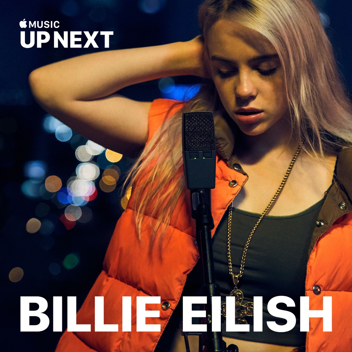 Up Next Session Billie Eilish Live - Single Billie Eilish CD cover