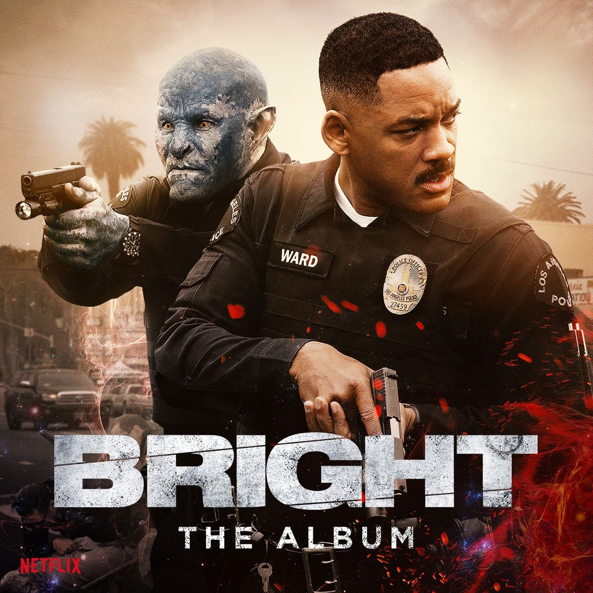Bright The Album Various Artists CD cover