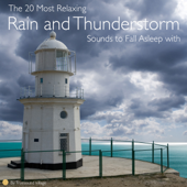 Gentle Continuous Rolling Thunder with Relaxing Rain Sound (Audio Loop Version)