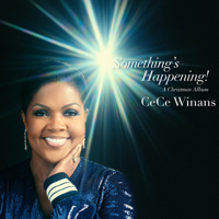 CeCe Winans - Something's Happening! A Christmas Album artwork