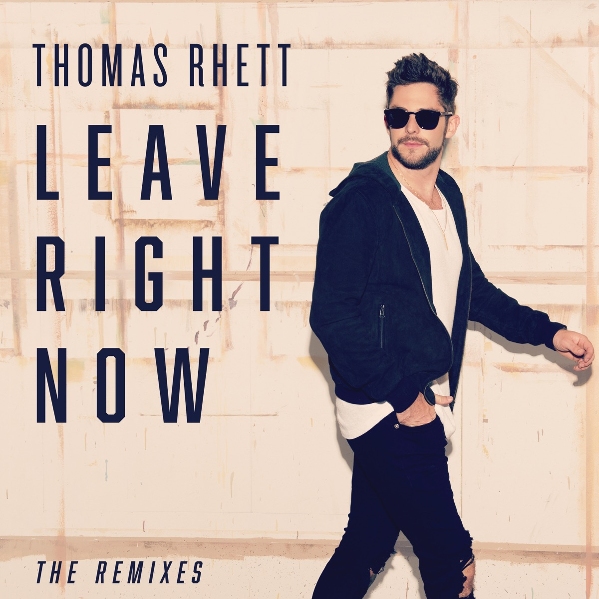 Leave Right Now The Remixes - EP Thomas Rhett CD cover