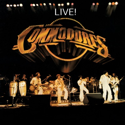 Live! ((Remastered)) - The Commodores
