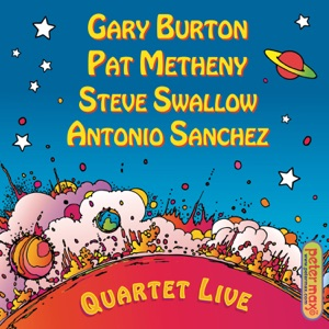 Gary Burton, Pat Metheny, Steve Swallow & Antonio Sánchez - B and G (Midwestern Night's Dream)