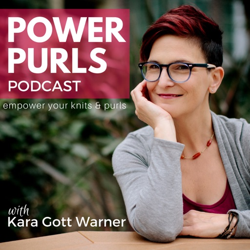 Cover image of Power Purls Podcast - Knitting, Crochet and Yarn Podcast