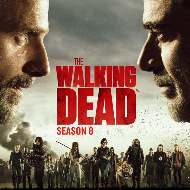 burning series the walking dead staffel 8