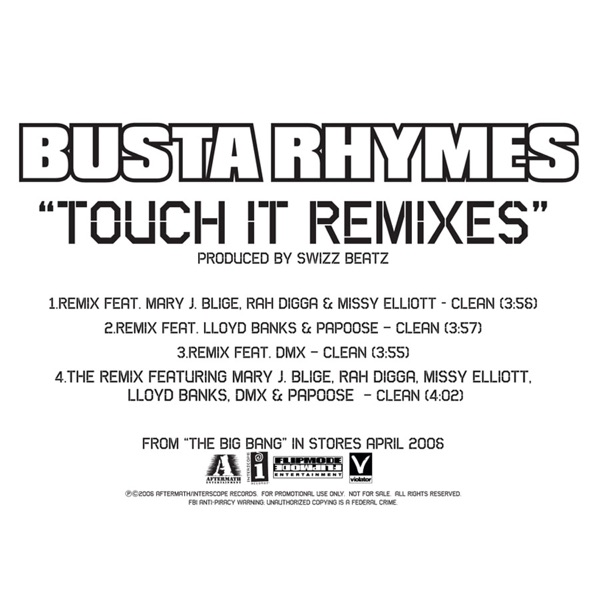 Touch It Remixes - EP