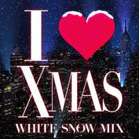 I LOVE X'MAS WHITE SNOW MIX