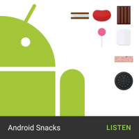 Podcast cover art for Android Snacks