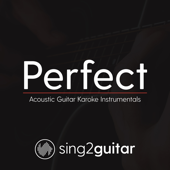 Perfect (Originally Performed by Ed Sheeran) [Acoustic Guitar Karaoke]