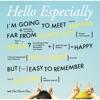 Hello Especially - EP ジャケット画像