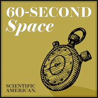 Podcast cover art for 60-Second Space