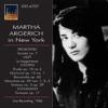 Martha Argerich - Martha Argerich in New York, 1966 (Live) artwork