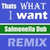 That's What I Want (Tui Soundsystem Remix) - Single, Salmonella Dub