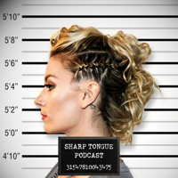 Podcast cover art for Sharp Tongue
