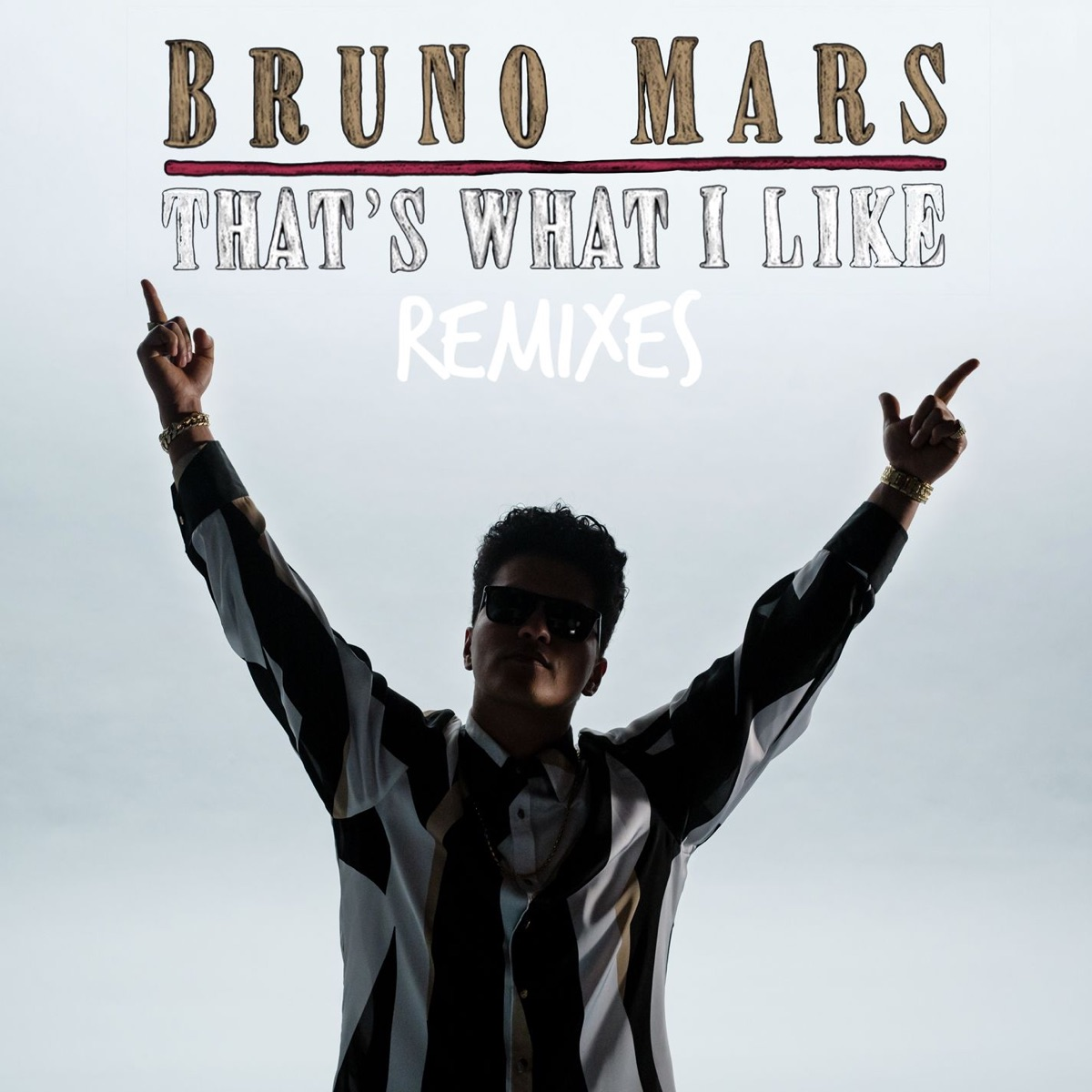 Thats What I Like Remix feat Gucci Mane - Single Bruno Mars CD cover