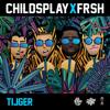 Childsplay & Frsh - Tijger kunstwerk