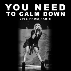 You Need To Calm Down (Live From Paris) - Single